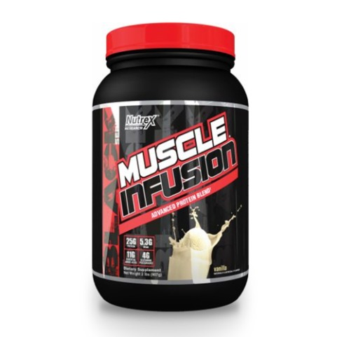 Nutrex 머슬 인퓨전 Muscle Infusion 2lb vanilla