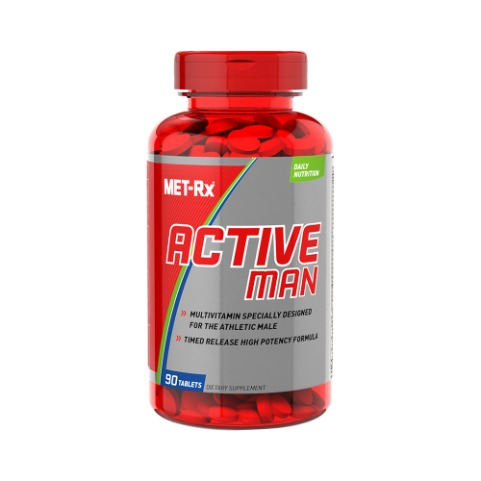 MET-Rx 액티브맨 Active Man Multivitamin 90tab