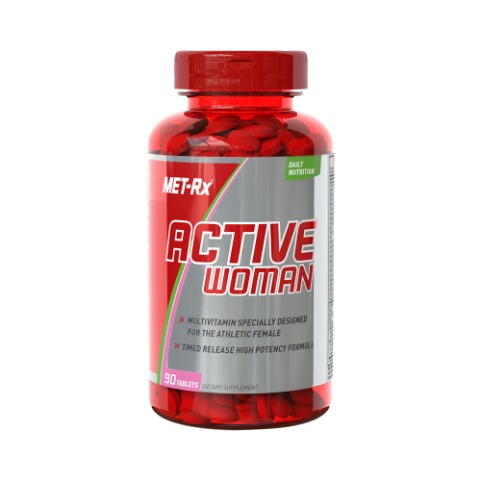 MET-Rx 액티브우먼 Active Woman Multivitamin 90tab