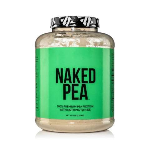 Naked 네이키드 Pea 프로틴 파우더 5lb Unflavored